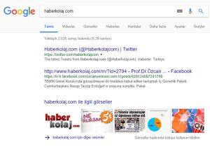 Google tam spam cezası