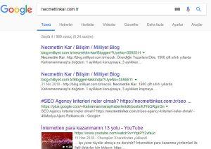 Google indexlerin silinmesi sorunu