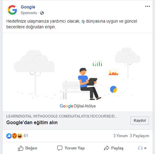 facebook reklam fiyatları 2019