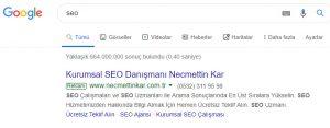 Google adwords reklam fiyatları 2019